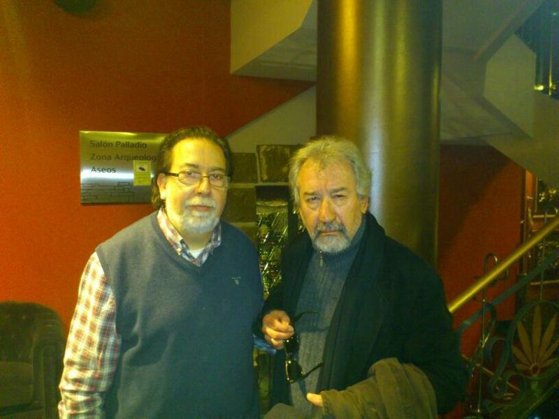 Jose Sacristán en el Hotel Sancho Abarca