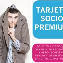 Tarjeta Socio Premium