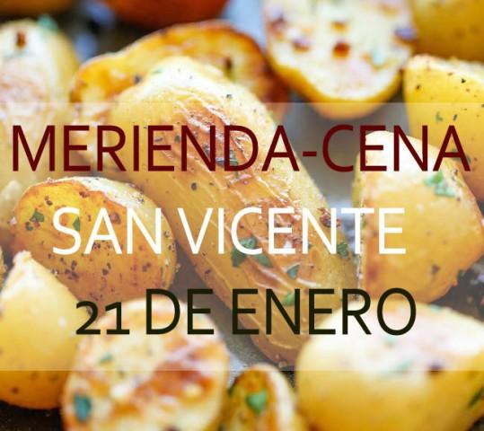 Merienda Cena San Vicente