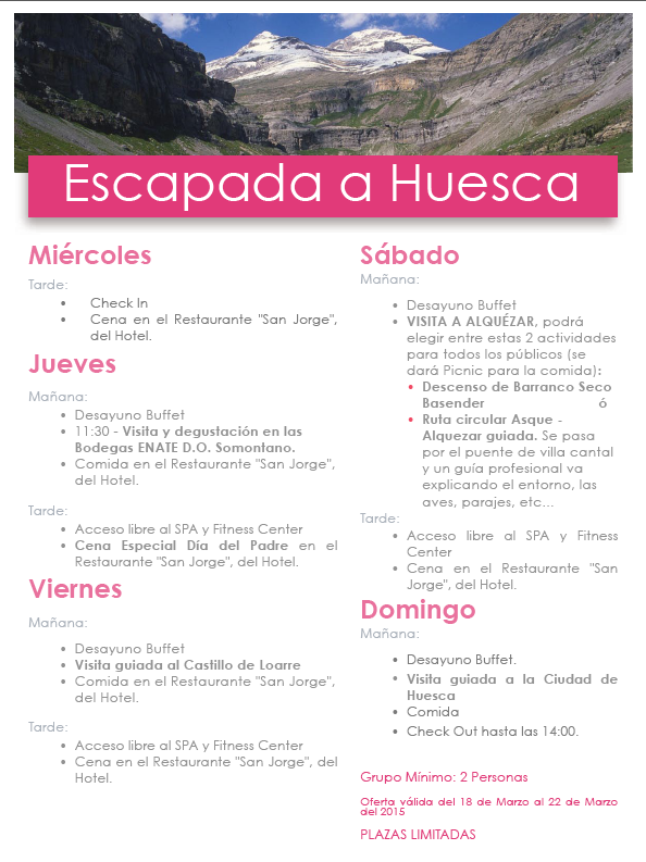 Escapada Huesca